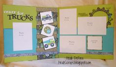 layout by Heidi DeFina using CTMH Later Sk8er paper