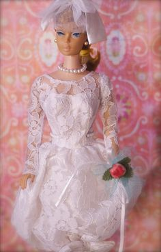 Vintage Barbie bride