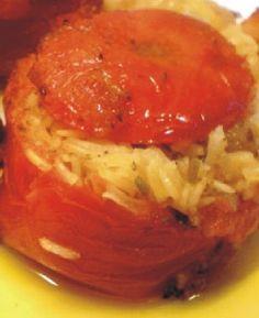 Ντομάτες γεμιστές με κριθαράκι και λαχανικά My Cookbook, Greek Recipes, Food For Thought, Thai Red Curry, Basil, Healthy Recipes, Healthy Foods, Vegetables, Cooking