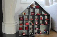 image result for hello lovely studio galvanized advent calendar