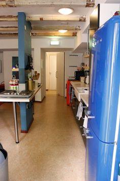 Kitchen at CocoMama Hostel, Amsterdam | Love & Adventure