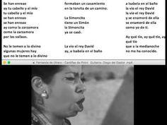 Fernanda de Utrera - Cantiñas de Pinini - Guitarra  Diego del Gastor