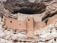 Montezuma Castle, Camp Verde, Arizona Bearing no relationship to the Aztec ruler (but inaccurately named so upon discovery), Montezuma Castle is a cliff dwelling of the Sinagua people, another of the pre-Columbian cultures of the American southwest. The 20-room, five-story structure was built out of the mountain's limestone; as a result, its alcove placement is incredibly well preserved.