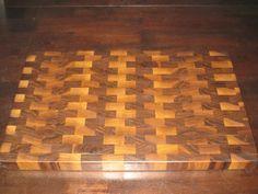 Make a Wooden Walnut Kitchen Cutting Board – DIY Step By Step Photos