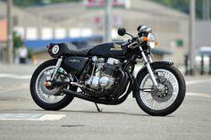 Studs custom #Honda CB750.
