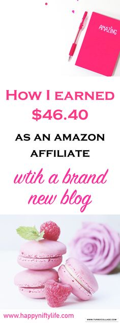How to Make Money as an Amazon Affiliate. The Amazon Affiliate program is one of the best and easiest affiliate programs for bloggers and entrepreneurs. These strategies helped me boost traffic to my blog as well as earn my first income as an Amazon affiliate. #makemoneyonline #makemoneyblogging #newblogpost #bloggingtips #beginnerblogger #sidehustle #sideincome #earnmoneyonline