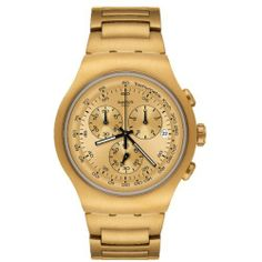 Swatch Golden Block Mens Watch YOG402G Swatch. $212.50. Brand:SWATCH. Dial color: gold. Condition:brand new with tags. Band color: gold. Model: YOG402G