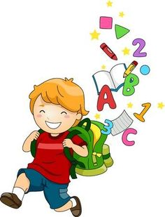 Illustration of a Happy School Boy with a Backpack full of A.- Illustration of a Happy School Boy with a Backpack full of ABC's. Illustration Of A Happy School Boy With A Backpack Full Of ABC's. Stock Photo, Picture And Royalty Free Image. Funny Baby Images, School Frame, Plakat Design, School Murals, School Clipart, School Painting, Kids Ride On, School Decorations, School Boy
