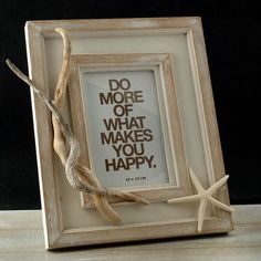 Check out this beautiful coastial chic frame handmade with love and decorated with hand picked pieces of driftwood from greek seas. What Makes You Happy, Are You Happy, Greek Sea, Cream White Color, Wooden Picture Frames, Seas, Driftwood, Vintage Art, Etsy Store