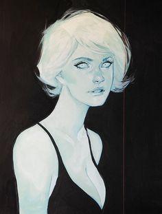Phil Noto: painting, illustration