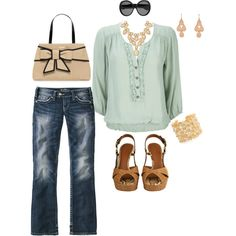 classy and casual, created by joslynnbeth.polyvore.com