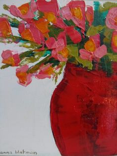 We welcome back Melbourne artist Anna Blatman to Inka Gallery. Anna had her first solo exhibition, 'Loved up Colour' , with us back in. Abstract Flowers, Abstract Art, Abstract Portrait, Watercolor Artists, Arte Floral, Hanging Art, Flower Art, Pastel, Art Paintings
