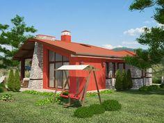 Casa parter cu doua dormitoare Case, Gazebo, Outdoor Structures, Kiosk, Pavilion, Cabana