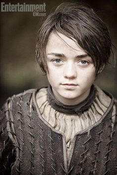 Arya Stark (Maisie Williams) in Games of Thrones Second Season coming out in April