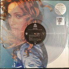 Madonna - Ray Of Light - Ltd. Black Friday Edn. (2 Clear Vinyl LP) Madonna Ray Of Light, Black Friday, Lp