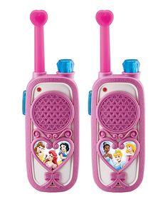 """Disney Princess Enchanting Walkie Talkies - eKids - Toys """"R"""" Us Toys For Girls, Gifts For Girls, Princess Toys, Disney Princess, Princess Birthday, 5th Birthday, Birthday Ideas, Birthday Gifts, Princess Collection"""