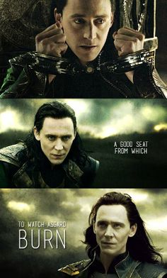 """Tom Hiddleston """"Loki"""" Stills from """"The Dark World"""" from http://hiddleston-daily.tumblr.com/post/78307516629/i-only-ask-for-one-thing-in-return and http://hiddleston-daily.tumblr.com/post/78299598959/i-thought-you-liked-tricks"""