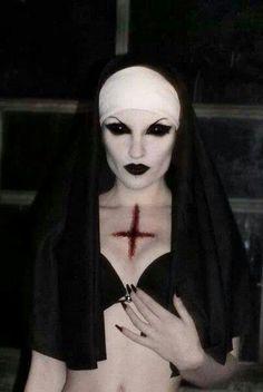 Sexy Scary Nun Costume