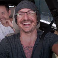 Carpool Karaoke| Lovely Chester❤Bennington
