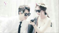 How sweet this couple. I hope, they are become a 100% real couple! #gonglee #jongseung #beecouple