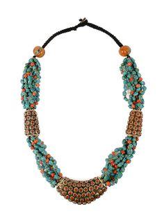 Tibet Art // Collier Turquoise