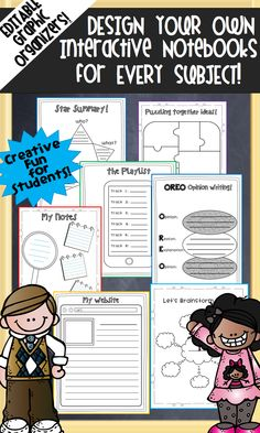 Editable pages I can use for everything! 4th Grade Activities, Teaching Activities, Teaching Writing, Teaching Science, Teaching Resources, Teaching Ideas, Life Science, Math Notebooks, Interactive Notebooks