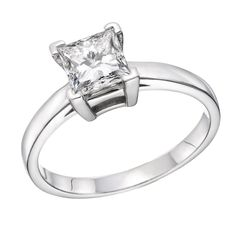 925 Sterling Silver Princess Cut Diamond Simulated Swarovski Pure Brilliance Zirconia Engagement Ring (0.51 cttw)-7. Beautiful solid 925 Sterling Silver Swarovski CZ Ring, Princess Cut Center Stone - 0.51 cttw. Original Swarovski Pure Brilliance. 30 Days Money Back Guarantee. Exceptional Direct Manufacturing Prices. Certificate Of Authenticity included.