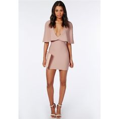 Misguided Cape Dress (Soldout in Stores) Misguided cape dress. Missguided Dresses Mini