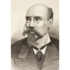 Jos Echegaray Y Eizaguirre Born 1832 Died 1916 Spanish Civil Engineer Mathematician Statesman And Dramatist He Won 1904 Nobel Prize For Literature From La Ilustracion Espaola Y Americana Of 1881 Canva