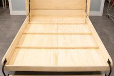 [QUESTION] How do you build a DIY murphy bed? What is the process to build a murphy bed? [ANSWER] The Murphy bed is a cross between a cabinet and a bed. It is commonly referred to as a pull-down bed, wall bed or fold-down bed. Murphy Bunk Beds, Murphy Bed Kits, Build A Murphy Bed, Murphy Bed Desk, Modern Murphy Beds, Murphy Bed Plans, Murphy Bes, One Room Flat, Murphy Bed Hardware