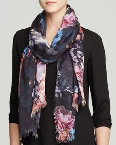 Lily and Lionel Flores Scarf | Bloomingdale's