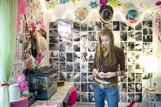 Rania Matar photographs girls' bedrooms