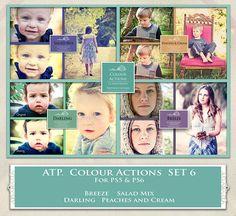 ATP. Color Actions SET 6 by AllThingsPrecious.deviantart.com on @DeviantArt