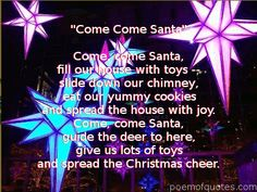 quotes/pic images of christmas cheer | Cute Christmas Poems for Kids