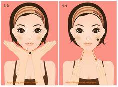 Омолаживающий Массаж Асахи (ZOGAN) для лица в картинках. V Gif, Face Exercises, Face Yoga, Self Massage, Wallpaper Quotes, Face And Body, Disney Characters, Fictional Characters, Beauty Hacks