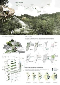 Image 17 of 17 from gallery of Exploring Post Earthquake Reconstruction 2013 AIM Competition Awards Announced Scenic Village Planning Award Image Courtesy of AIM - architecture Architecture Presentation Board, Presentation Layout, Architecture Board, Architecture Graphics, Architecture Drawings, Architecture Portfolio, Presentation Boards, Rendering Architecture, Architecture Diagrams