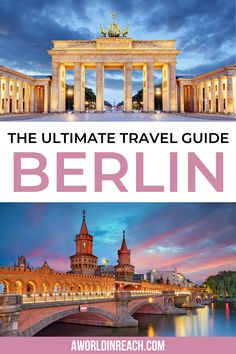 Ready to spend 4 days in Berlin, Germany? Check out this perfect guide to your first visit to Berlin / 4 days in Berlin itinerary / how to spend 4 days in Berlin / top things to do in Berlin / places to visit in Berlin / what to do in Berlin / where to go in Berlin / bucket list locations in Berlin / where to eat in Berlin / where to stay in Berlin / Berlin travel tips / Germany travel tips #Berlin #Germany #Europe #EuropeTravelTips #Travel Backpacking Europe, Europe Travel Guide, Travel Guides, Travel Destinations, Travel Abroad, Italy Travel, Visit Germany, Germany Europe, Berlin Germany