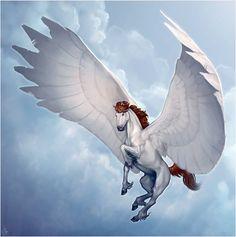 Heaven's Steed by LhuneArt on deviantART