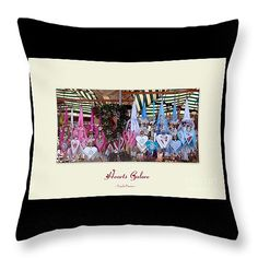 """""""Hearts Galore"""" Throw Pillow 14"""" x 14"""" by Linda Prewer.  Multiple sizes available with or without inserts.  From £19.00 Watermark will not be on printed pillow. #pillow #cushion #valentine #love #hearts"""