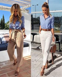 Today we will talk about the best summer work outfit ideas for 2019 year. If you want to find some great work outfit pictures and ideas. Casual Work Outfits, Professional Outfits, Mode Outfits, Classy Outfits, Chic Outfits, Fall Outfits, Fashion Outfits, Work Outfits For Women, Best Outfits