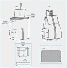 The Spinsterhood Diaries: Sample Fashion Project: Backpack Teck Pack
