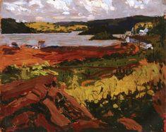 Tom Thomson (1877 - 1917) Canoe Lake, Mowat Lodge, 1914