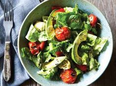 Roasted Vegetable Salad with Shallot Vinaigrette from Everyday Detox
