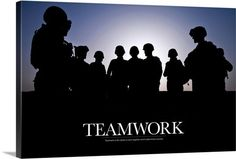 Teamwork is the ability to work together which determines success