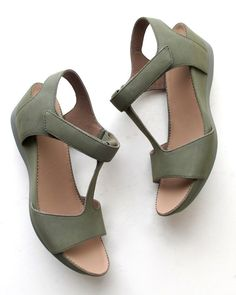 Camper Micro Wedge Sandal K200117 in clay leather