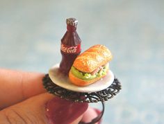 coke and sandwich ring - love this although not the best inspiration
