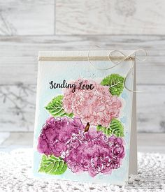 Simon Says Stamp STAMPtember® Blog Hop!  https://www.simonsaysstamp.com/product/Simon-Says-Clear-Stamps-HYDRANGEA-BLOOMS-SSS101642-STAMPtember-SSS101642