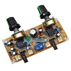 Placa p/ montar amplificador Stereo com LM386