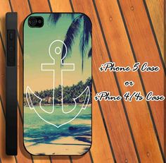 Summer Anchor, iPhone Case iPhone 4/4s/5 Case, Danielle will appreciate!