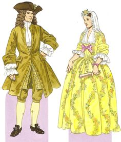 Костюм XVII века